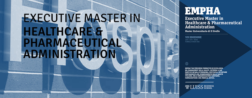 Master in Healthcare & Pharmaceutical Administration