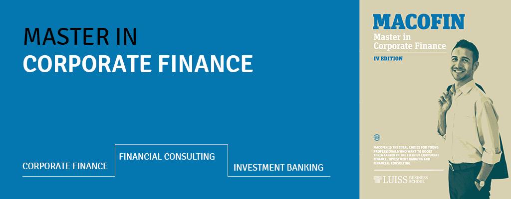 Master in Corporate Finance