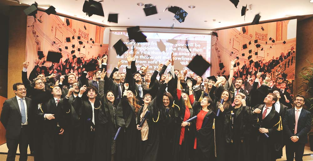 LUISS BS MBA Graduation Day, a moment that you will always remember