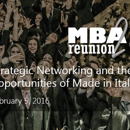 LUISS Business School MBA Reunion