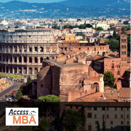 One-to-One Meeting with LUISS MBA staff at Access MBA Event in Rome