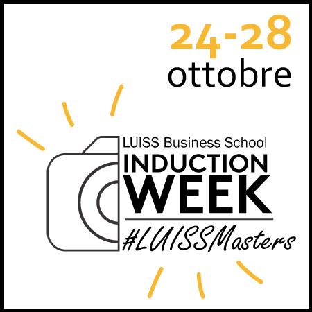 Induction Week per i nuovi studenti dei Master Specialistici