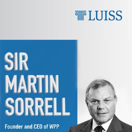 Leader For Talent: Martin Sorrell incontra gli studenti LUISS