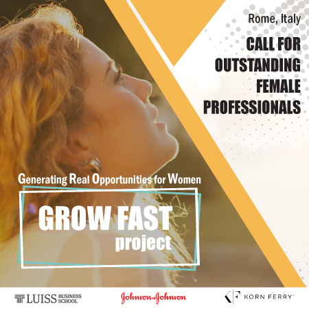 Call for Female Prospective MBA Candidates to Participate in the  GROW FAST Initiative