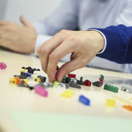 Problem solving with LEGO® SERIOUS PLAY® methodology