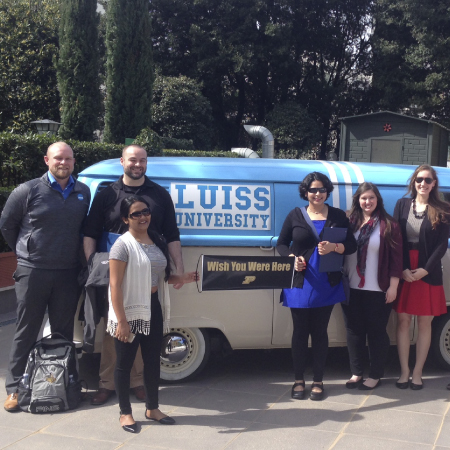 Learning tour of the Krannert School of Management at LUISS Business School