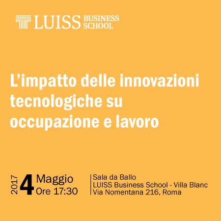 L'impatto delle innovazioni tecnologiche su occupazione e lavoro