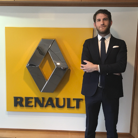Achieving an Automotive Career Dream: Ernesto, Brand & Marketing Analyst at Renault Italy, after the LUISS MBA