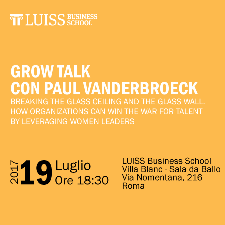GROW Talk con Paul Vanderbroeck