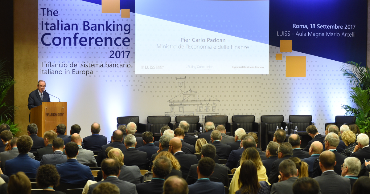 italian banking conference