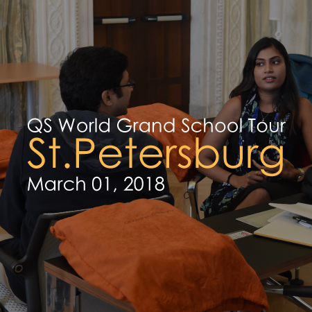 Meet us in St. Petersburg and learn about our International programs in Rome, Italy