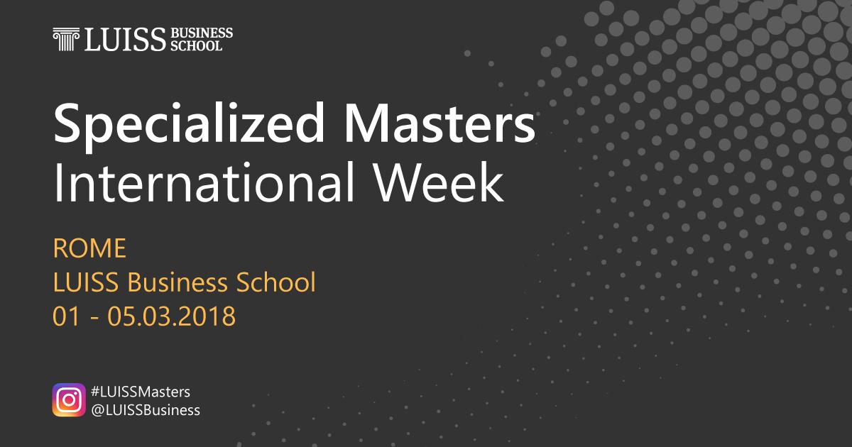 International_Week_luiss_Business_School