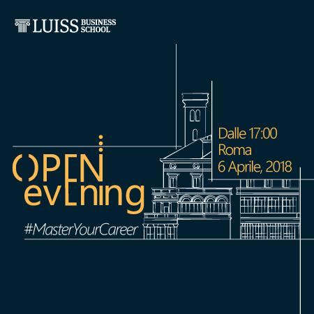 Open Evening LUISS Business School