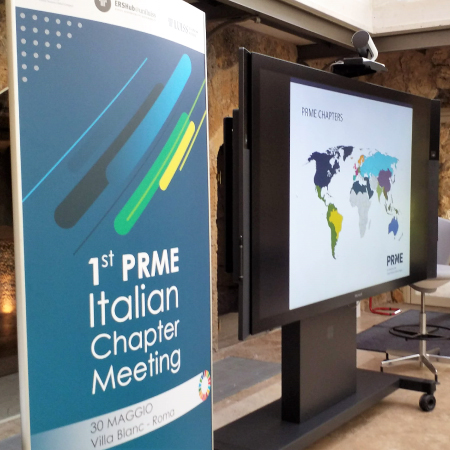 At LUISS Business School the first Official PRME Chapter Italy, organized by ERSHub