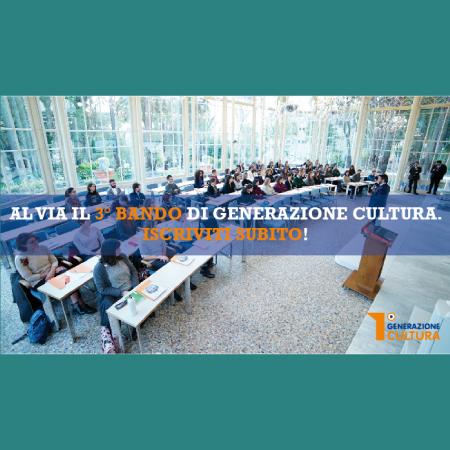 """Al via il terzo bando di """"Generazione Cultura"""" per formare i manager dei beni culturali"""