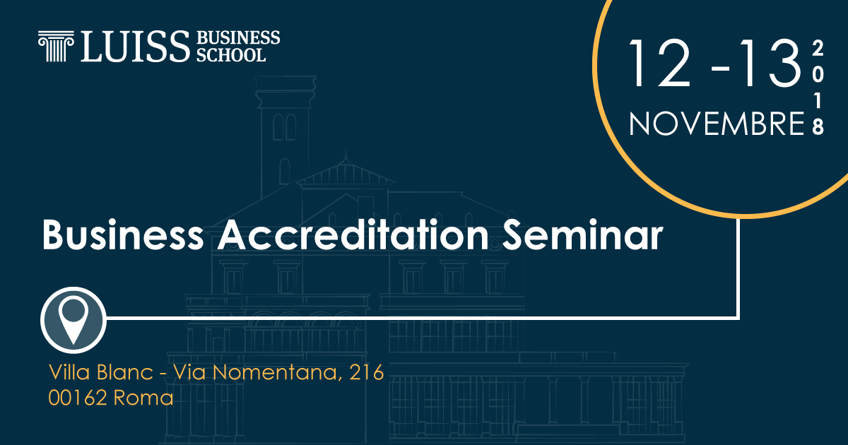 AACSB_accreditation seminar