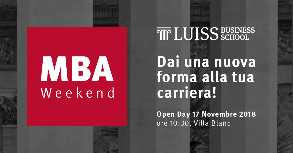 mba luiss business school