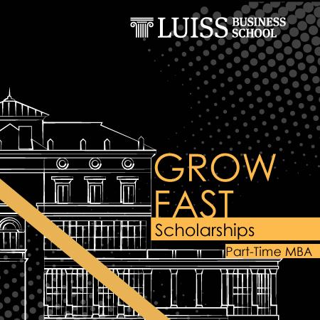 Al via le selezioni per studentesse del Part-Time MBA per partecipare all'iniziativa GROW FAST