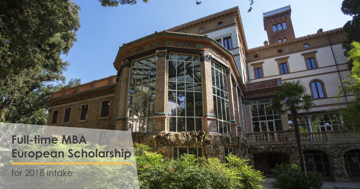MBA luiss scholarship