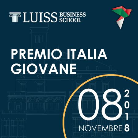 Quinta edizione del Premio Italia Giovane