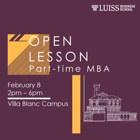 Open lesson Part-time MBA