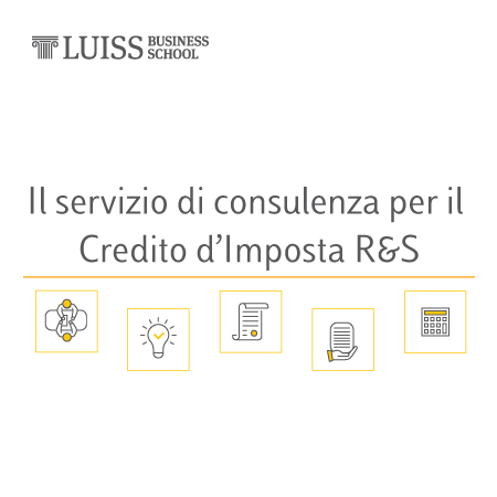 Il servizio di consulenza per il Credito d'Imposta R&S