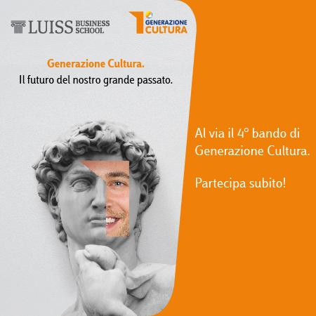 Generazione Cultura:al via il quarto bando per formare 50 giovani nei beni culturali