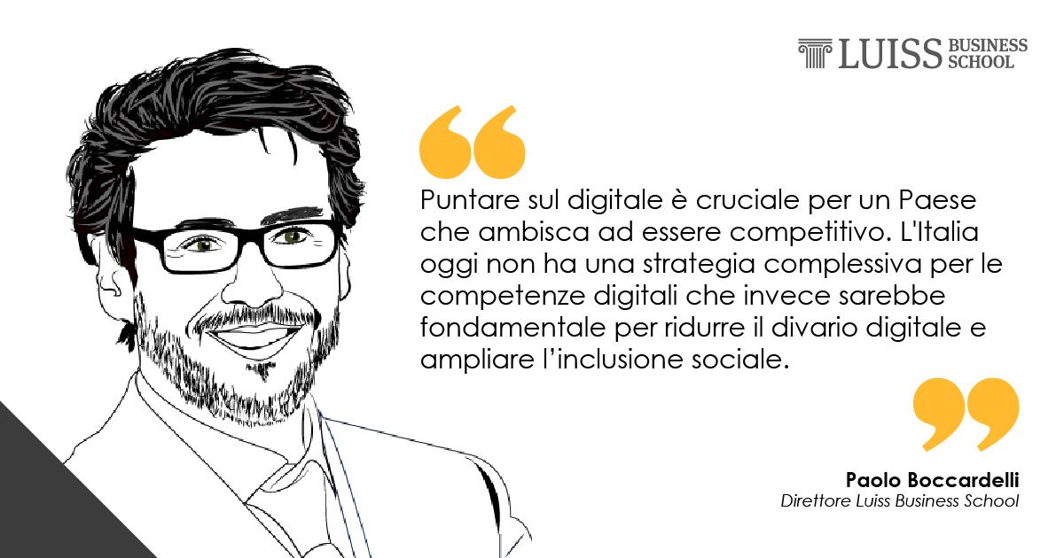 paolo boccardelli luiss business school digitale