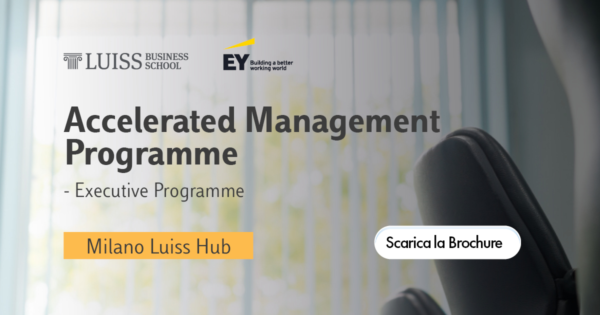 accelerated management programme luiss ey