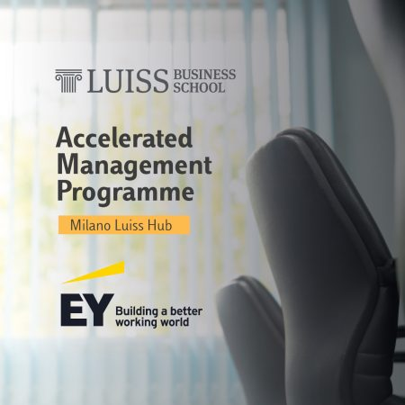 Accelerated Management Programme con EY