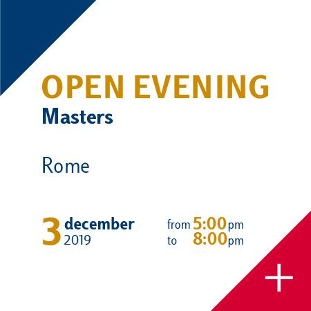 open evening master luiss