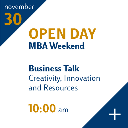 Weekend MBA Open Day Novembre 30