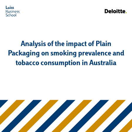 Analysis of the impact of plain packaging on smoking prevalence and tobacco consumption in Australia