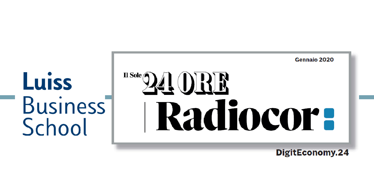 digiteconomy 24 sole 24 ore luiss