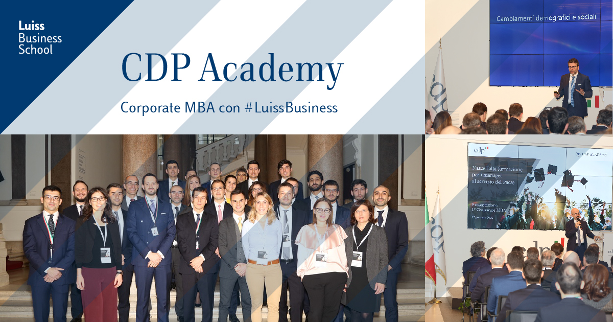 mba master cdp luiss
