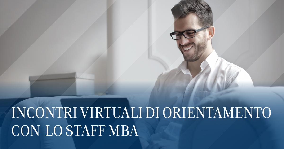 Incontri virtuali MBA Staff Luiss Business School