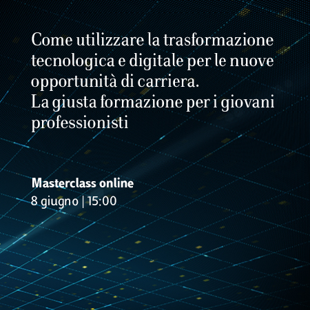Masterclass online – Master in Management & Technology