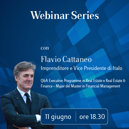 Luiss Business School Webinar Series con Flavio Cattaneo