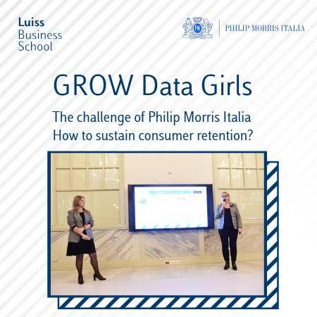 GROW Data Girls – The challenge of Philip Morris Italia for Luiss Business School