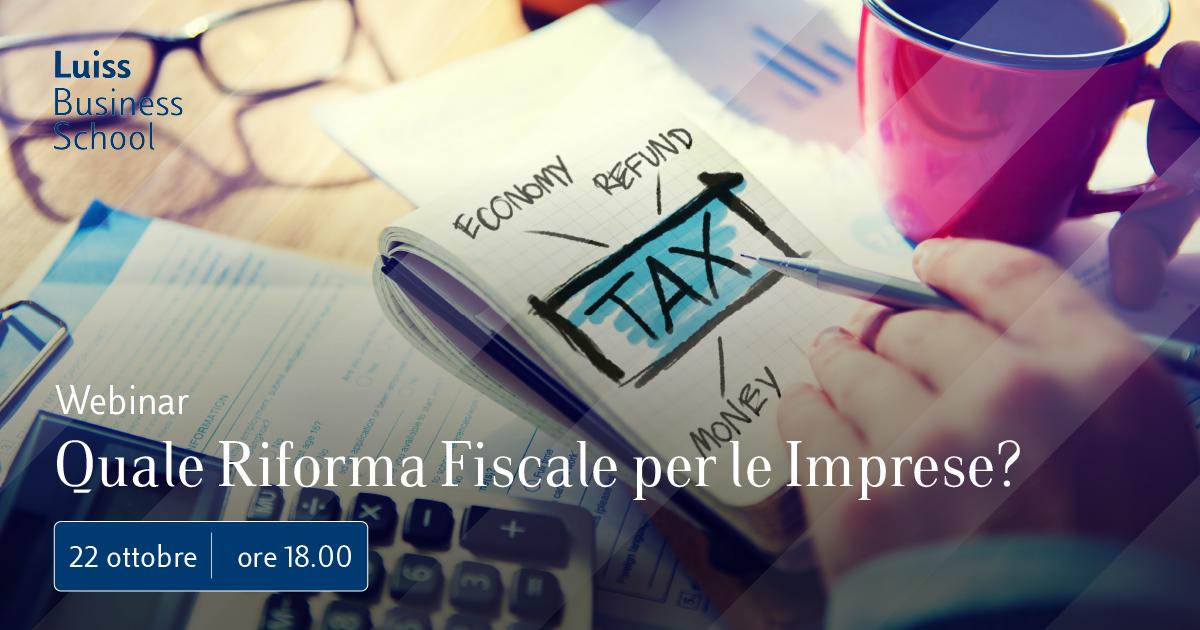 2020_Riforma_Fiscale_webinar luiss business school