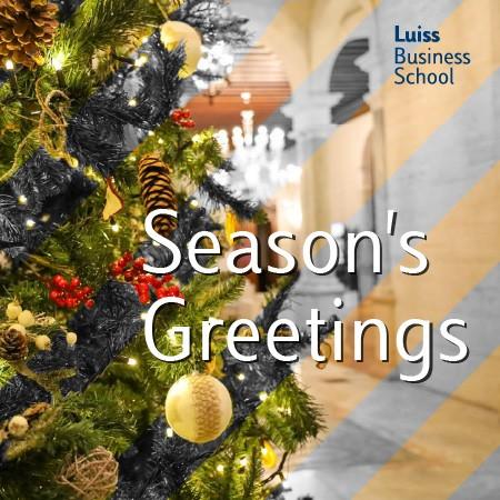 Season's Greetings Luiss Business School 2020