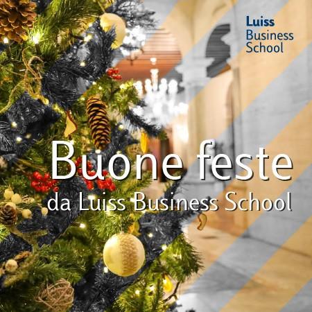 buone feste luiss business school 2020