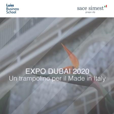 Expo_Dubai_SACE_luiss bs