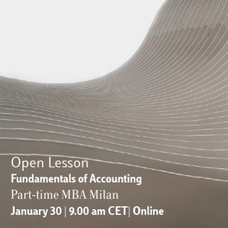 Part-time MBA Milan Online Open Lesson