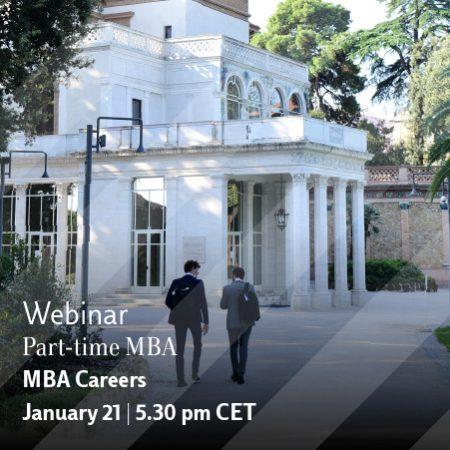 Part-time MBA Webinar