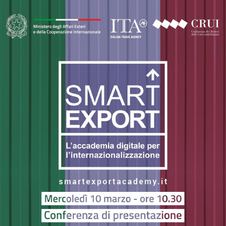 Smart Export - L'accademia digitale per l'internazionalizzazione