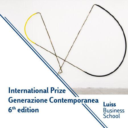 International Prize Generazione Contemporanea: sixth edition