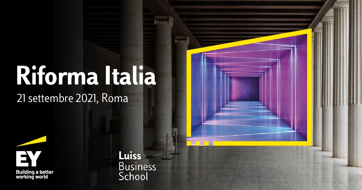 EY Riforma Italia - quale sarà il futuro del nostro Paese?