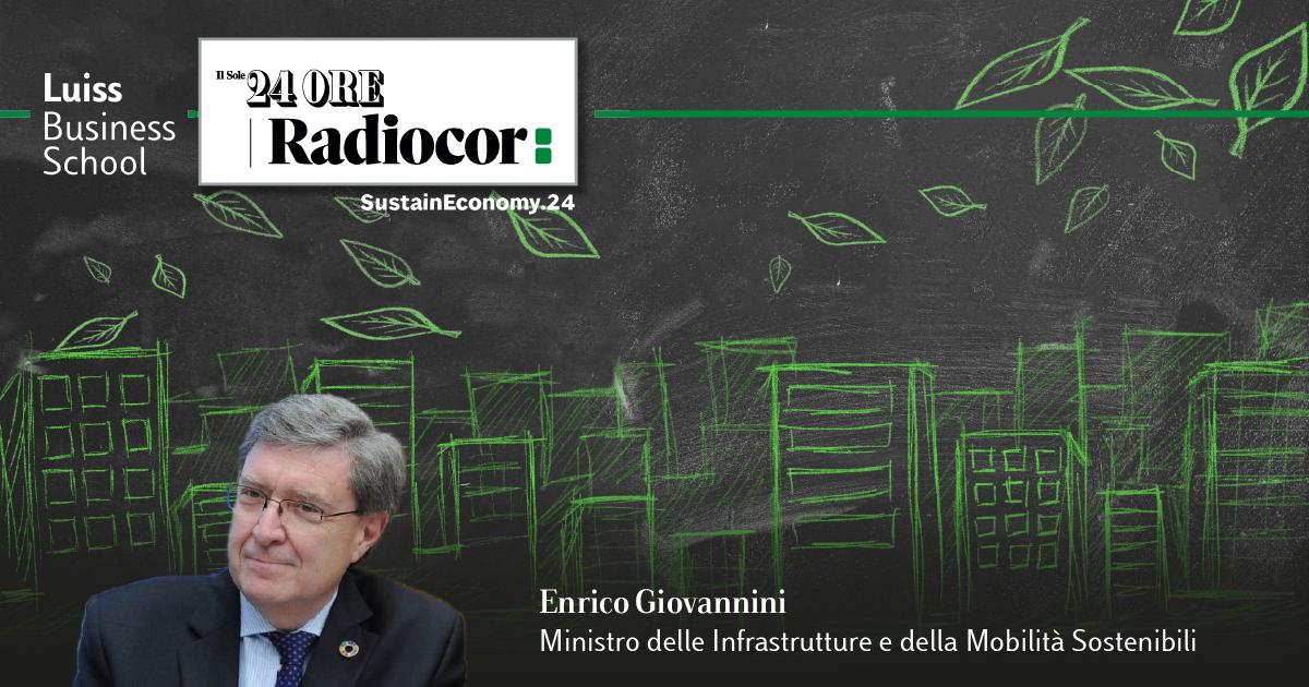 Enrico Giovannini, Ministro delle Infrastrutture e mobilità sostenibili