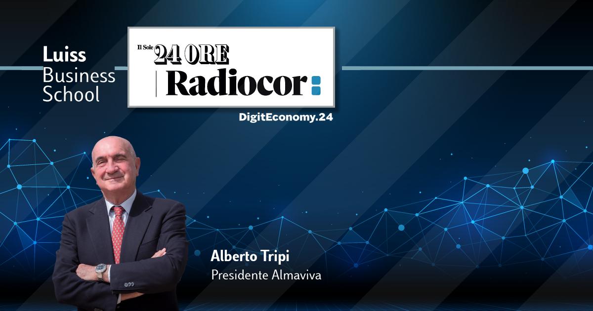 ALberto Tripi Presidente Almaviva